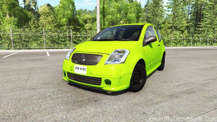 beamng citroen c2 v0 1 1 beamng drive mods download. Black Bedroom Furniture Sets. Home Design Ideas