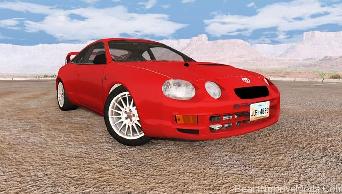 BeamNG  Toyota Celica GTFour ST205  BeamNG Drive Mods Download
