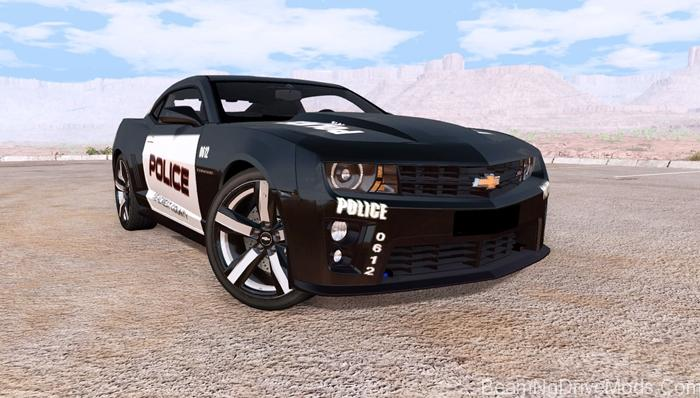 Beamng Chevrolet Camaro Zl1 Police Beamng Drive Mods