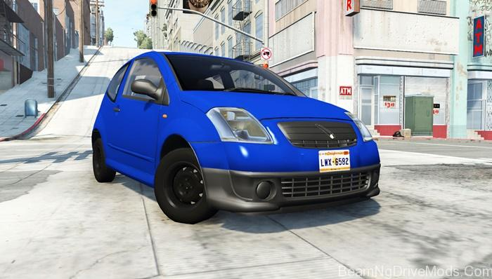 beamng citroen c2 v0 1 3 beamng drive mods download. Black Bedroom Furniture Sets. Home Design Ideas