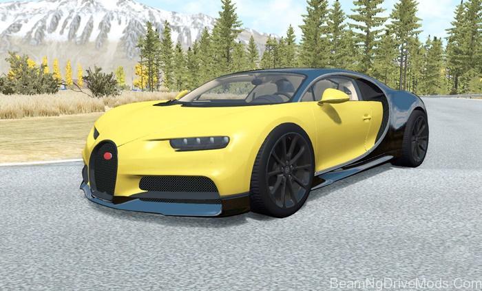 Beamng Bugatti Chiron 2016 Beamng Drive Mods Download