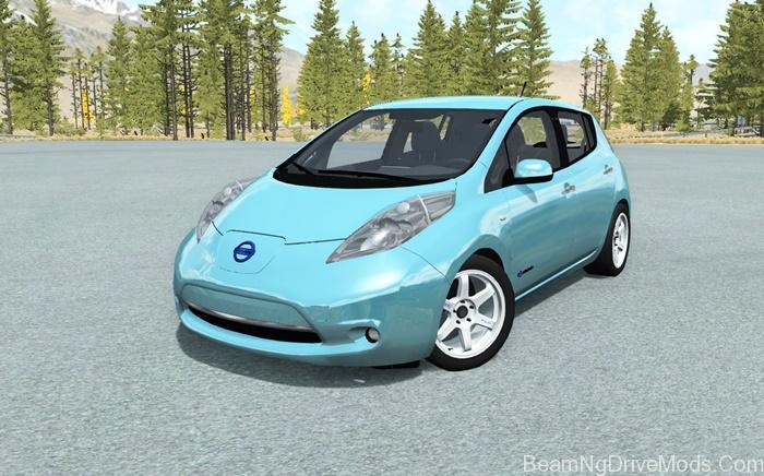 BeamNG – Nissan Leaf 2014 Car Mod – BeamNG Drive Mods Download